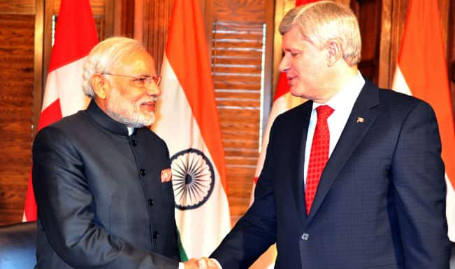 Canada to supply uranium for India's nuclear plants