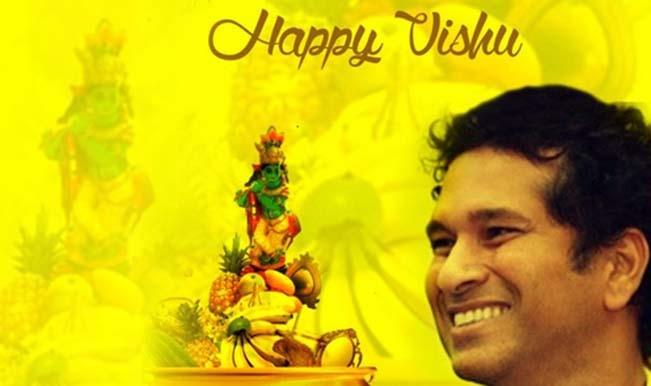 Sachin Tendulkar wishes Happy Vishu