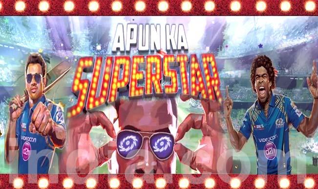 Mumbai Indians IPL 2015 theme song: #ApunKaSuperstar #MI will surely win your hearts!