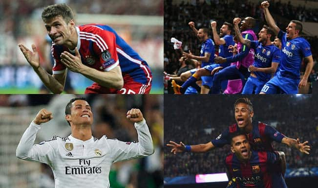 UEFA Champions League 2014-15 quarterfinal round-up and semifinal