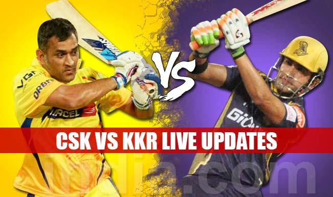 CSK won by 2 runs | Live Cricket Score Updates Chennai Super Kings vs Kolkata Knight Riders, IPL 2015: Dwayne Bravo awarded Man of the Match