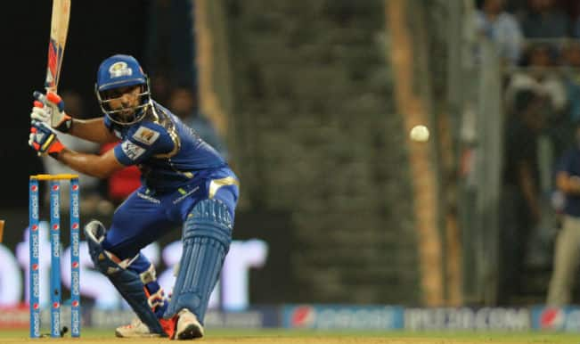 Rohit Sharma Out! MI vs CSK IPL 2015 Final: Watch Video highlights of Fall of Wicket