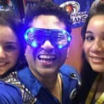 Sachin Tendulkar clicks selfies after Mumbai Indians' IPL 2015 win: View Pictures