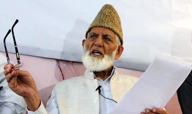 Government to consider Syed Ali Shah Geelani's plea after he
