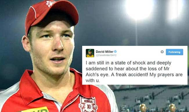 David Miller deeply saddened by Kolkata constable's eye injury, prays for quick recovery