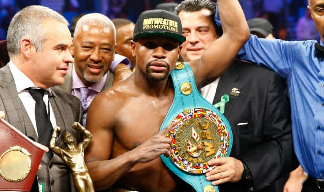#MayPac: Celebrities react to Floyd Mayweather-Manny Pacqiao fight