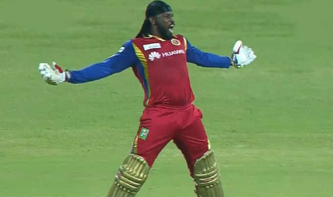Chris Gayle hits century against KXIP: Video Highlights of Gayle's IPL 2015 first hundred for RCB