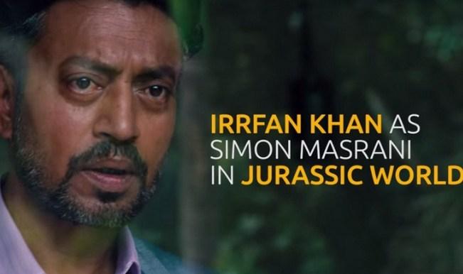 Jurassic World teaser: Irrfan Khan's first look as Simon Masrani out