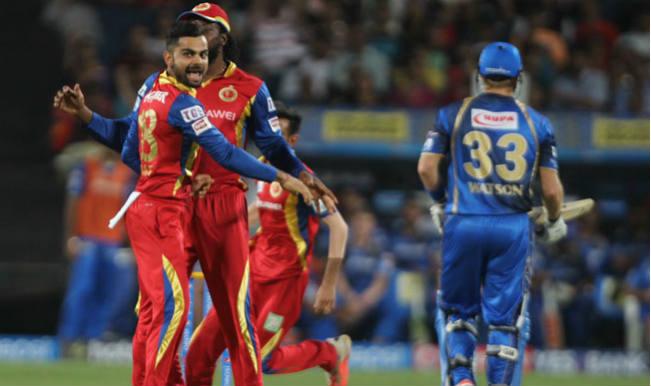 Royal Challengers Bangalore Vs Rajasthan Royals Cricket