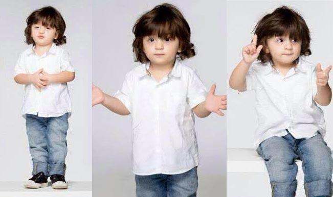 Cute! AbRam rocks in blue denim and white shirt – Shah Rukh Khan's little son is adorable in latest photographs