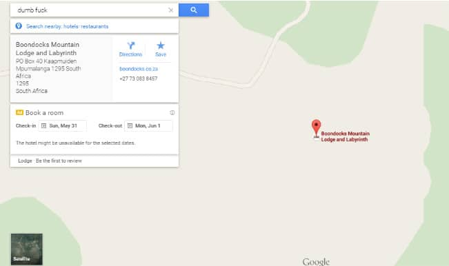 Find out where is 'Dumb ' on Google Maps – Unbelievable ... Directions Google Maps South Africa on road maps south africa, world map south africa, weather map south africa,