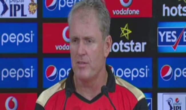 Sunrisers Hyderabad coach Tom Moody blames conditions for loss against Kolkata Knight Riders