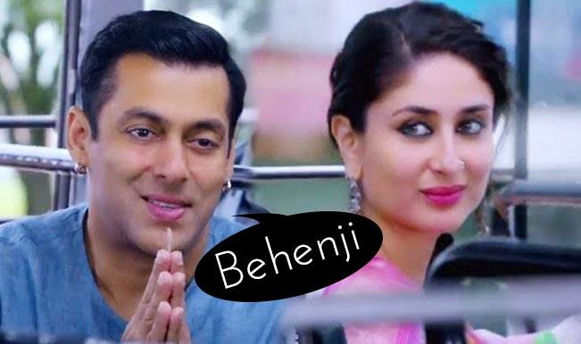 Salman Khan calling Kareena Kapoor Khan 'Behenji' is cutest moment from Bajrangi Bhaijaan trailer!