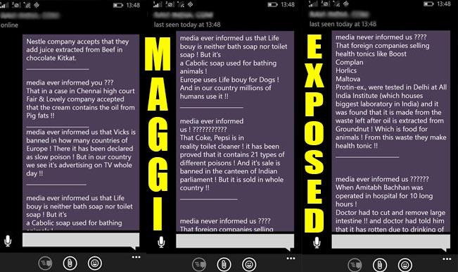 Maggi contains excessive lead controversy: 'Nestle India confirms