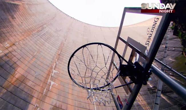 'How Ridiculous' sets new Guinness World Record with high-altitude Basketball shot!
