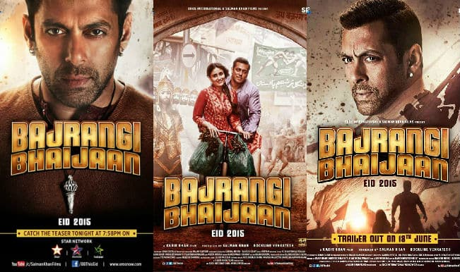 Bajrangi Bhaijaan: Which poster of Salman Khan's next is your favourite?