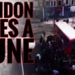 London Bus Overturned: More Than 100 People Overturn A Double Decker Bus In Walthamstow To Save An Unicyclist!