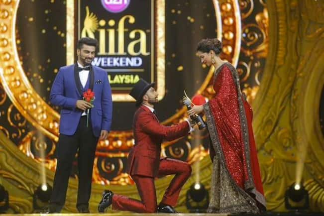 IIFA Awards 2015: Ranveer Singh and Deepika Padukone go public with their love!