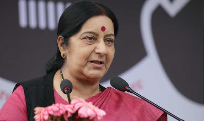 Union External Affairs Minister Sushma Swaraj1