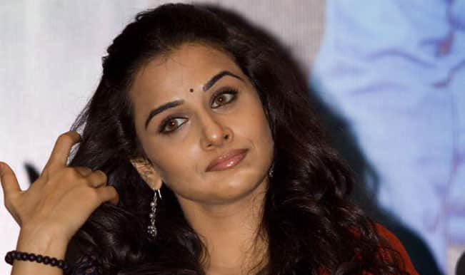 I haven't figured out comedy yet: Vidya Balan