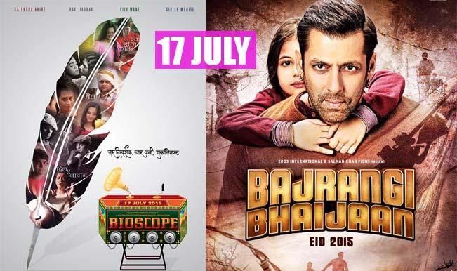 Bajrangi Bhaijaan & Bioscope movie releasing together on