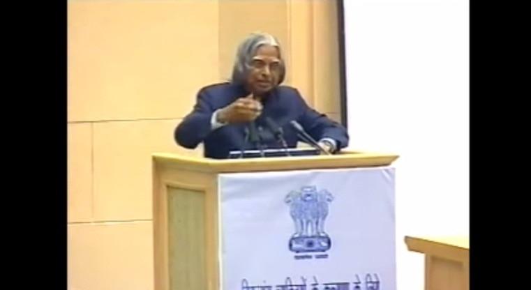 Dr APJ Abdul Kalam's speech at IIM Shillong: Last few minutes (Watch video)