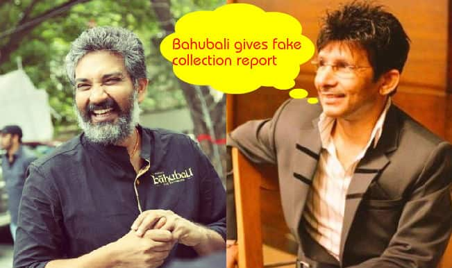 Bajrangi Bhaijaan vs Bahubali: Why is KRK pulling down S S Rajamouli's film by calling its box office collection bogus?