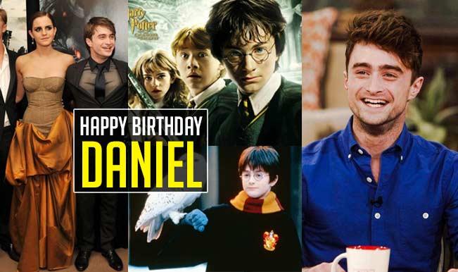 Happy Birthday Daniel: The Harry Potter star turns 26 today!