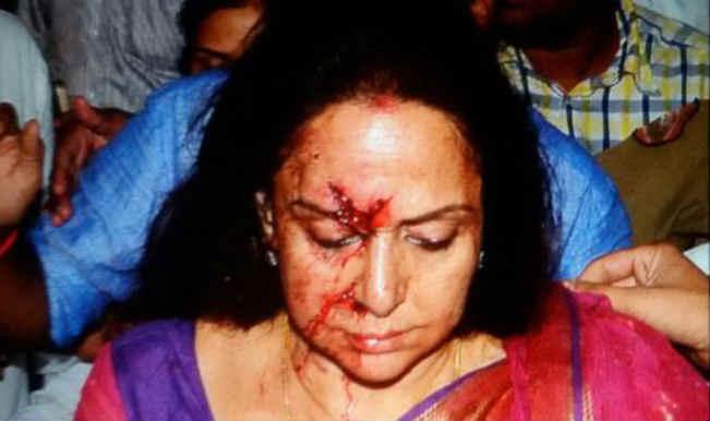 Hema Malini's driver arrested; Actress undergoes surgery