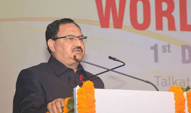 J P Nadda: NGOs key in achieving population stabilisation goal