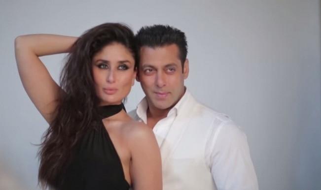 Salman Khan and  Kareena Kapoor Khan shoot for Filmfare July 2015 (Watch video)