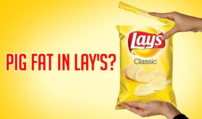 Pig fat in Lay's potato chips? Lay's is not 100 per cent vegetarian