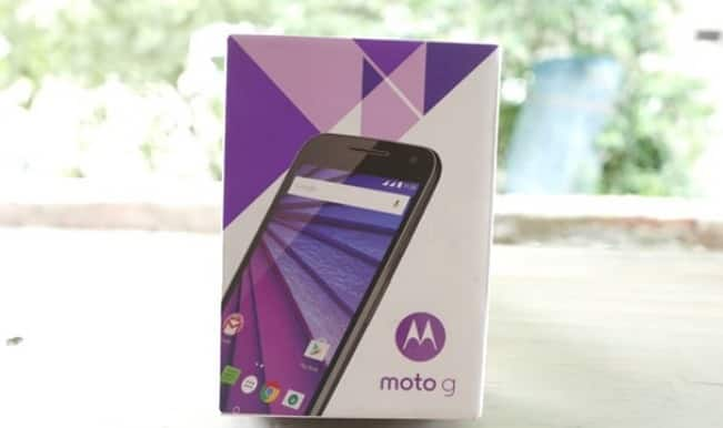Motorola Moto G (Gen 3) waterproof phone launched at Rs 11,999: Watch unboxing and review video