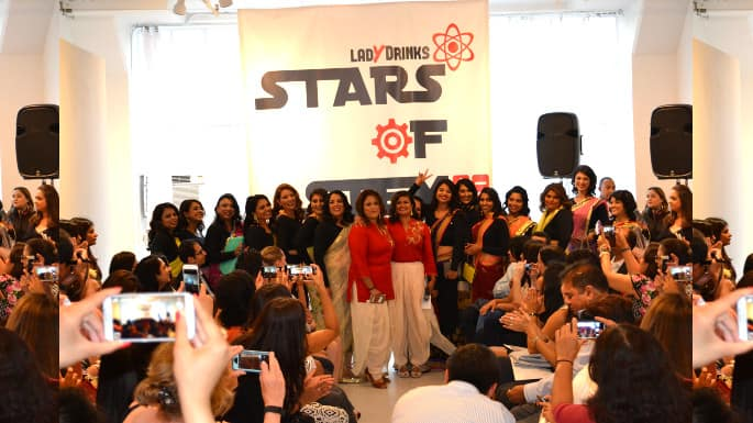 stars of stem fashion show feature