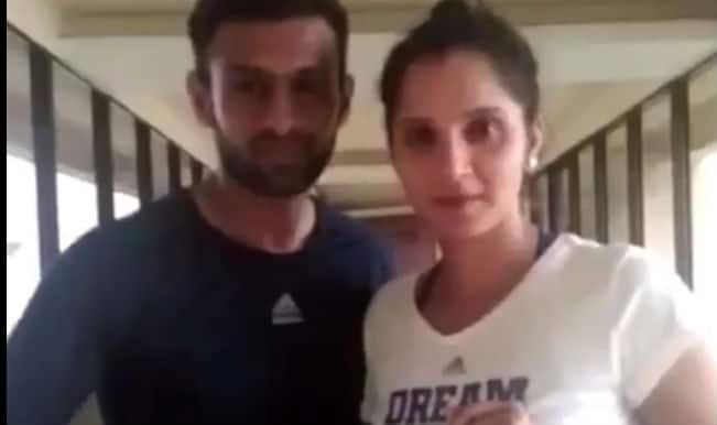 Sania Mirza, Shoaib Malik and Pakistan cricket team rock in this Dubsmash video