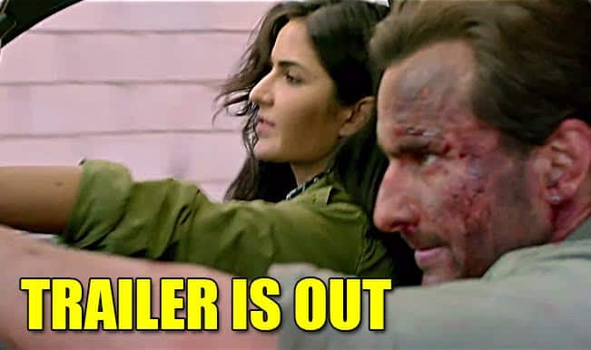 Phantom trailer: Saif Ali Khan and Katrina Kaif are all set to kill the mastermind of 26/11 massacre