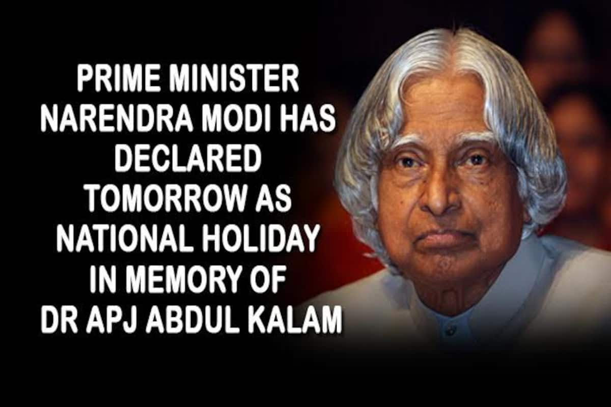 Apj Abdul Kalam Dead The Indian Fascination For A Holiday Makes Whatsapp Message Go Viral India Com