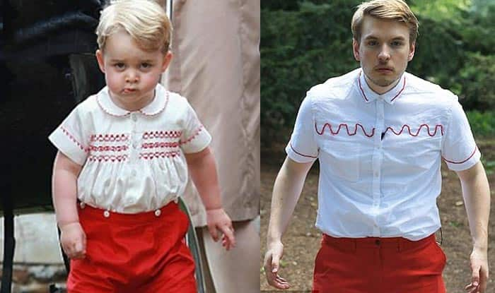 Prince George doppelganger? Watch video of Journalist dressed in royal baby's outfits for a week!