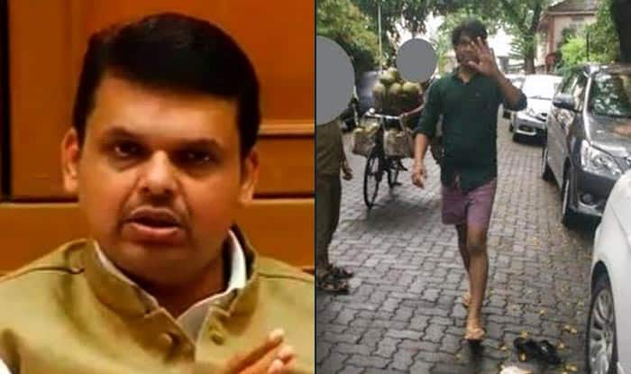 The man who masturbated at foreigner to be punished, assures Maharashtra CM Devendra Fadnavis