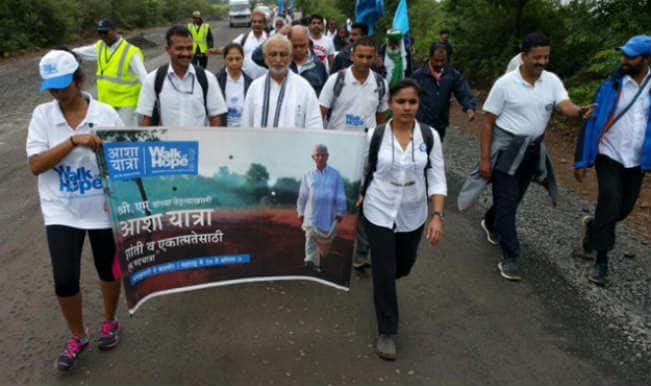 Prime Minister Narendra Modi wishes Sri M for Walk of Hope