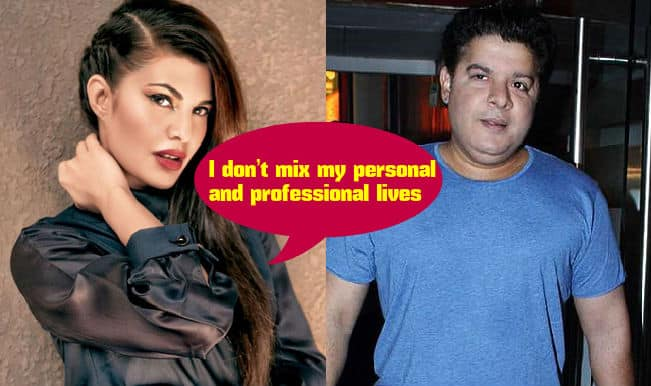 Jacqueline Fernandez has no problem in working with ex-flame Sajid Khan