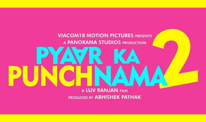 Pyaar Ka Punchnama 2 logo revealed; the sequel is all set to come with a twist!