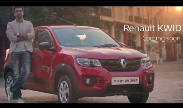 Renault Kwid 'teaser' in this latest TVC featuring Ranbir Kapoor
