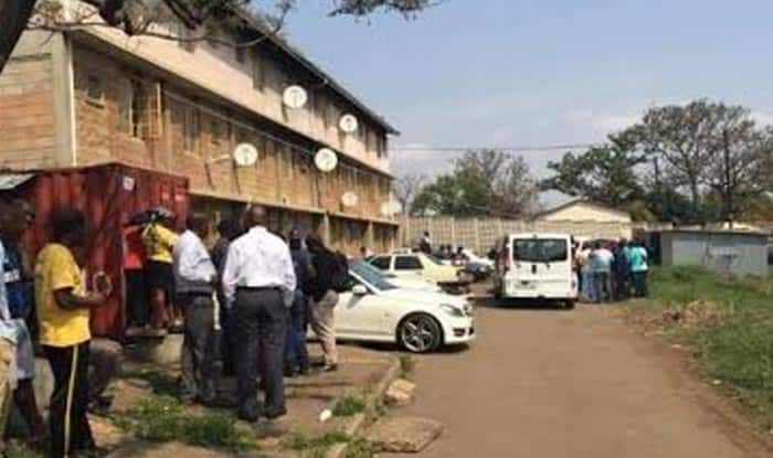 Eight dead in South Africa gunfights