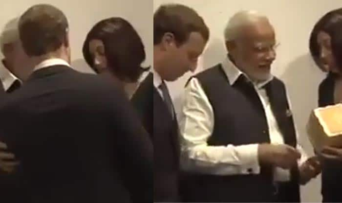 Oops! Narendra Modi brushed Mark Zuckerberg aside for perfect picture – Video goes viral