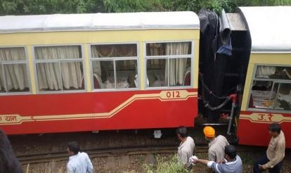 Kalka-Shimla toy train derails, two foreigners killed
