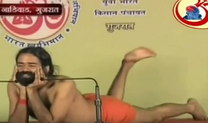 OMG! Baba Ramdev does a Salman Khan, dances to Dil Deewana from Maine Pyar Kiya!