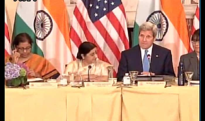 PM Narendra Modi US visit: Sushma Swaraj, John Kerry lay framework for India-US strategic dialogue