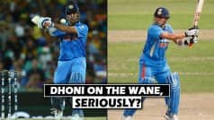 MS Dhoni may not be winning, but his figures are still better than Sachin Tendulkar