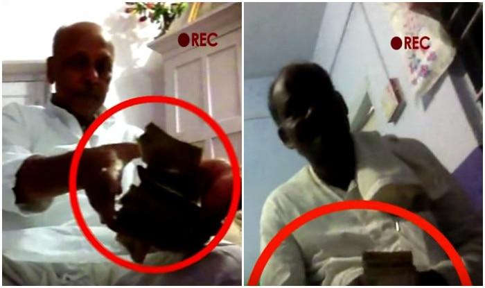 JDU, RJD leaders caught red handed taking bribe on camera